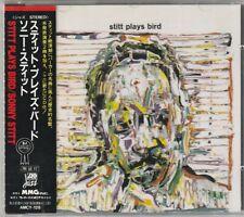 Sonny Stitt Stitt Plays Bird +2 Japan CD w/obi AMCY-128