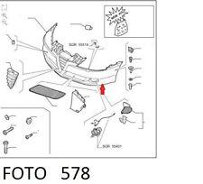 71740976 PARAURTI ANTERIORE (FRONT BUMPER) ALFA-ROMEO 147 10/04> CON LAVAFARI