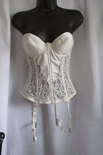 VICTORIA'S SECRET, SIZE 34-B, FULL LENGTH STRAPLESS, WITH STAYS, & GARTER BELTS