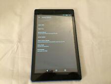Amazon Kindle Fire HD 8 7th Generation SX034QT 32GB WiFi 8in - Blue