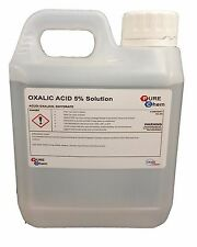 Oxalic Acid 5% Solution 1L Jerry Bleaching / Stain Removal / Rust Remover