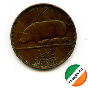 A 1933 Irish Bronze HALFPENNY ½d coin