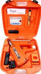 Paslode IM350 Gas Nail Gun First Fix Framing Cordless Nailer *Works well*