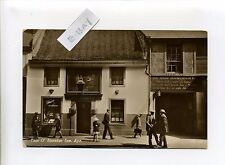 Scotland - Ayr, Tam O'Shanter Inn, people, retro clothes, RPPC real photo, 30's?