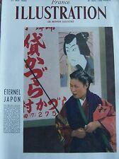 JAPON REVUE FRANCE ILLUSTRATION No 344 de 1952 DOSSIER ETERNEL JAPON