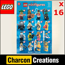 LEGO Series 2 Minifigures Instruction Leaflet Sheet x16 - 8684 (NEW) - INS002