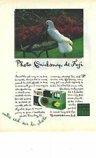 PUBLICITE ADVERTISING  1993   FUJIFILM appareil photo jetable