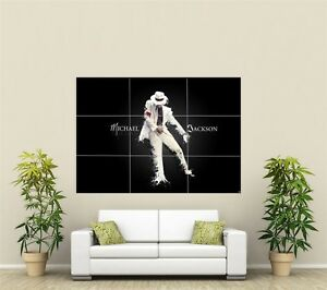 Michael Jackson Giant XL Section Wall Art Poster M104