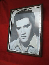 VINTAGE ELVIS PRESLEY MIRROR PHOTO,WILD IN THE COUNTRY , 17.5 X 13.5 INCH