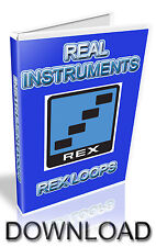INSTRUMENTS REX LOOPS - REASON REFILL - CUBASE - PRO TOOLS - LOGIC - ABLETON