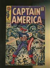 Captain America 107 VG 4.0 * 1 Book Lot * 1st Dr. Faustus! Stan Lee & Jack Kirby