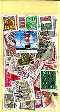 ALLEMAGNE Pochette 50 timbres oblitérés TOUS DIFFERENTS bon etat K50-1