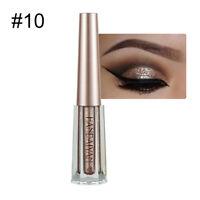 Liquid Eyeshadow Waterproof Long Lasting Shimmer Metallic Rose Gold Eye Shadow