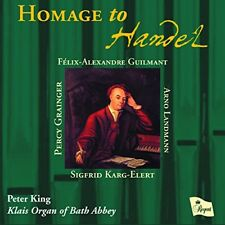 Peter King - Homage to Handel [CD]