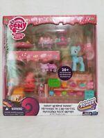 My Little Pony G4 MLP Sweet Rainbow Bakery Playset w/ Mrs. Dazzle Cake