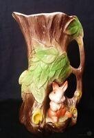 VTG Eastgate Pottery Rabbit Pitcher / Jug #95 - 21cm Tall   FREE Delivery UK*