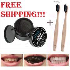 Carbon Coco Organic Teeth Whitening Powder Bamboo Charcoal Tooth Polish White