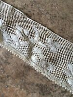 Antique Lace Dolls Trim French German Bisque China Doll Clothes Sewing 20""