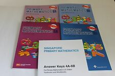 Singapore Primary Math Level 6 + Answer Booklet (US ED)-Textbook/Workbooks 6A+6B