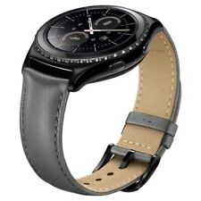Samsung Gear S2 Classic - Leather Band - Slate Grey  - 20mm
