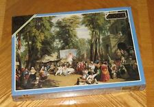 Sealed 3000 Piece Puzzle William Parrott Fair in the Champs Elysees - Vtg Falcon