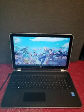 hp pavilion  ARSB125   touchscreen  15.6inch i3-4010U. 1.70GHz  (8gb X 500.HDD)