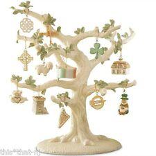 Lenox Irish 12-Piece Mini Ornament Set MSRP $100 New (Tree NOT Included)