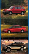 3 - 2000 Honda Passport, Civic and CR-V - Automobile Advertising Postcards