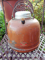 ANTIQUE SHAPLEIGH 1 GAL WATER JUG WITH PORCELAIN ENAMEL LINER DIAMOND BRAND RARE