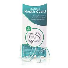 Mouth Guard Dental Clear Gel Gum Shield Night Teeth Grinding - 2PCS/Pack