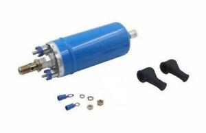 In Line Electric fuel pump Fit: Porsche ,Saab and Volvo
