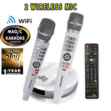 Magic Sing Karaoke E2 WiFi TWO Wireless Karaoke Mic 16k TAGALOG + 12K POP + MORE