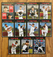 2020 Topps Heritage MINNESOTA TWINS TEAM SET - BRUSDAR GRATEROL RC NELSON CRUZ