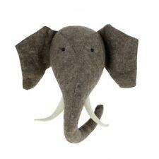 Fiona Walker Big Elephant Animal Head with tusks Nursery decoration