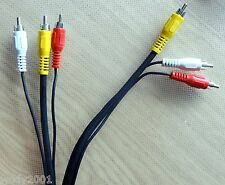 Audio Video - Kabel ca. 2mtr. AV Kabel 2x cinch 1x Video Qualitätsware