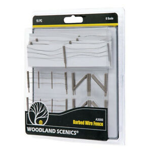 Woodland Scenics A3000 Barbed Wire Fence - O Scale