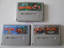 Nintendo Super Famicom SNES (NTSC-J) Super Donkey Kong 1,2 and 3 (Japan Import)