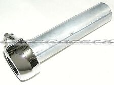 """Chrome Smoothy 1"""" Throttle Single Cable Harley Bagger Chopper Bobber Fit 1"""" Bars"""