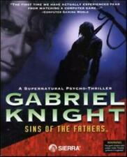 Gabriel Knight Sins of the Fathers PC CD gothic New Orleans voodoo murders game!