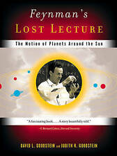 Feynman's Lost Lecture +CD, Very Good, Goodstein, David L. Book