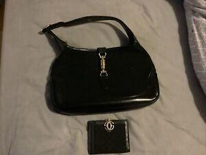 Vintage Gucci Handbag And Matching Purse