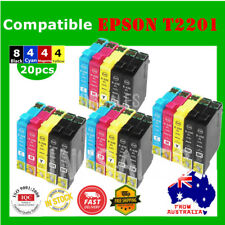 20 Ink Cartridge T220XL T2201XL for Epson WF2630/2650/2660 XP420/220/320/324/424
