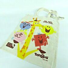 MR MEN Little Miss Tote Shopping Bag - Toys R Us - Rare Charity Memorabilia NEW