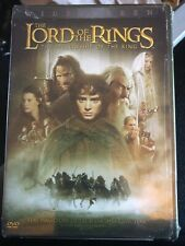 The Lord of the Rings The Fellowship Of The Ring Dvd 2-Disc Set WideScreen 2002