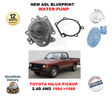 FOR TOYOTA HILUX PICKUP 2.4D 4WD 1984>1988 NEW ADL BLUEPRINT WATER PUMP + GASKET