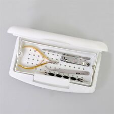 Pro Nail Sterilizer Tray Disinfection Pedicure Manicure Sterilizing Box GD