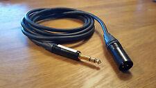 Neutrik XLR female / Jack 6.3mm, Klotz MC-5000 Cable 2 m Balanced / Symmetrisch