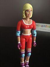 Vtg 1999 Wow Girls Katie Lane Red Roller Inline Skater Rollerblade Action Figure