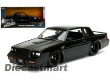 Véhicules miniatures noirs Fast & Furious Buick