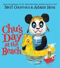 Chu's Day at the Beach Board Book-ExLibrary